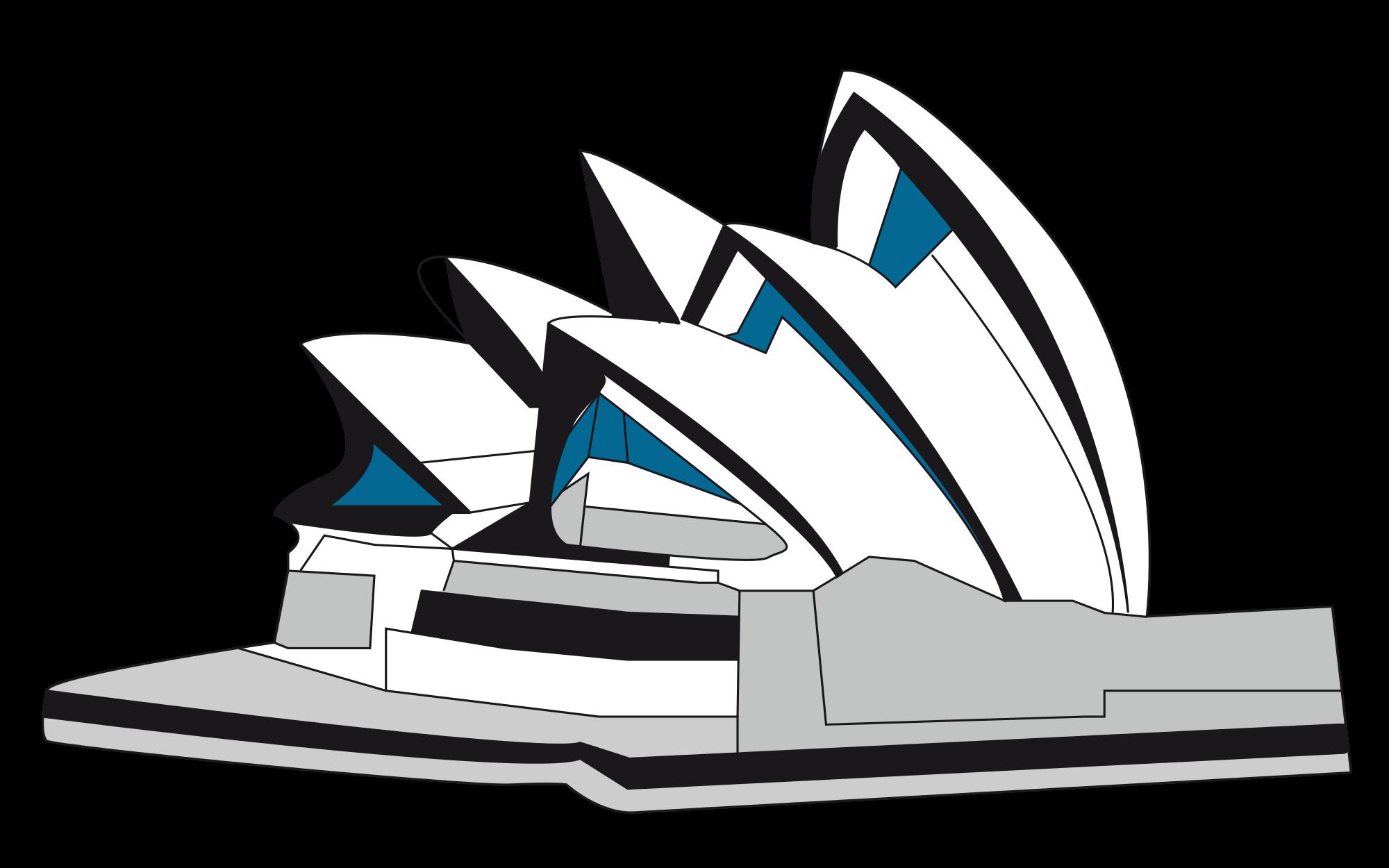 PNG Sydney Opera House - 57802