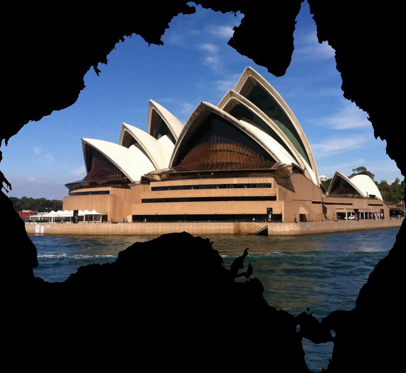 PNG Sydney Opera House - 57800
