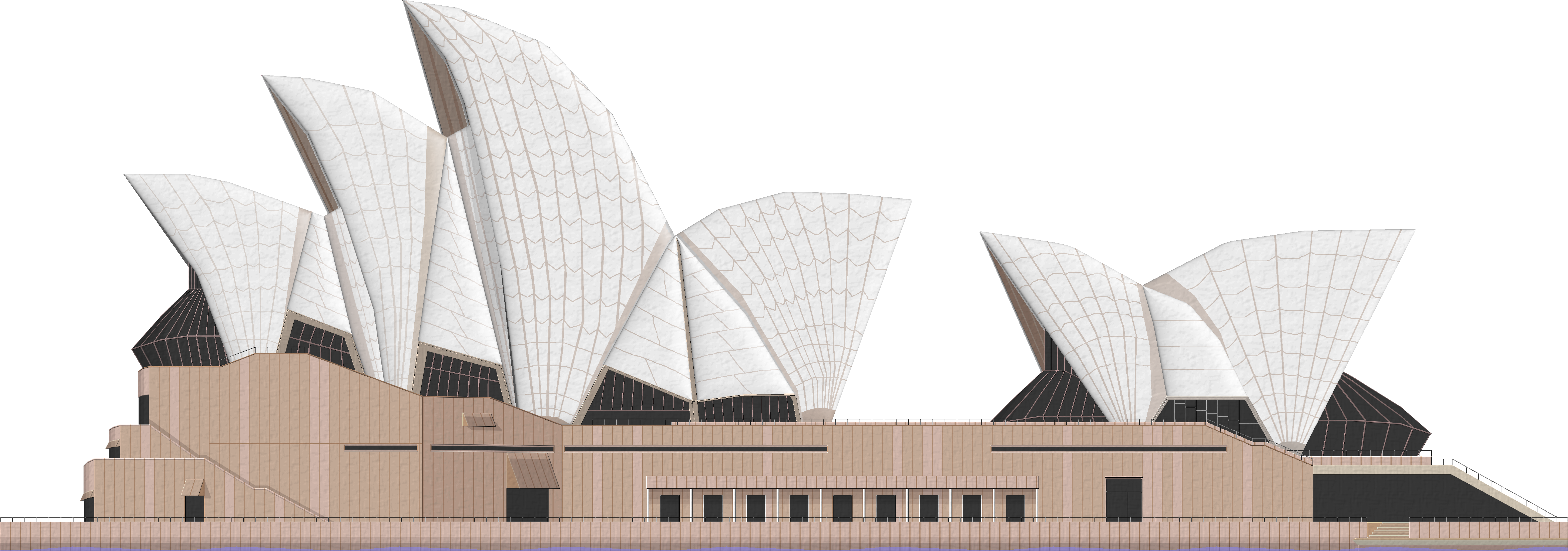 PNG Sydney Opera House - 57795