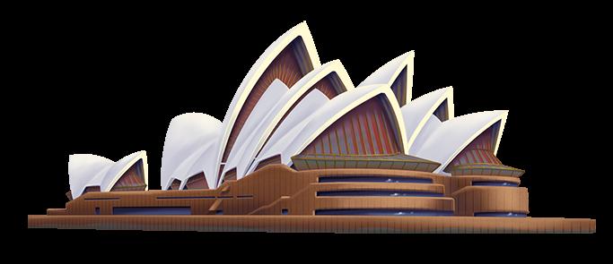 Sydney Opera House PNG HD - PNG Sydney Opera House