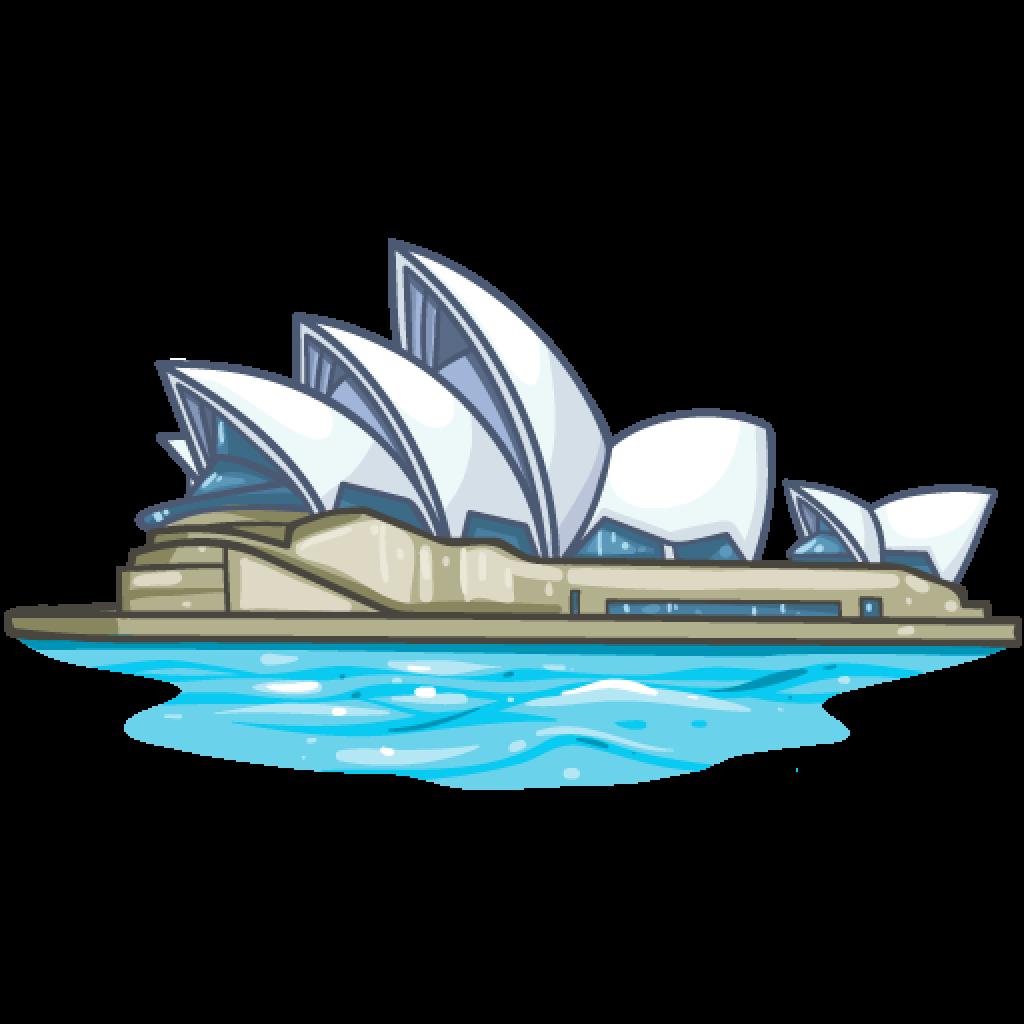 PNG Sydney Opera House - 57797