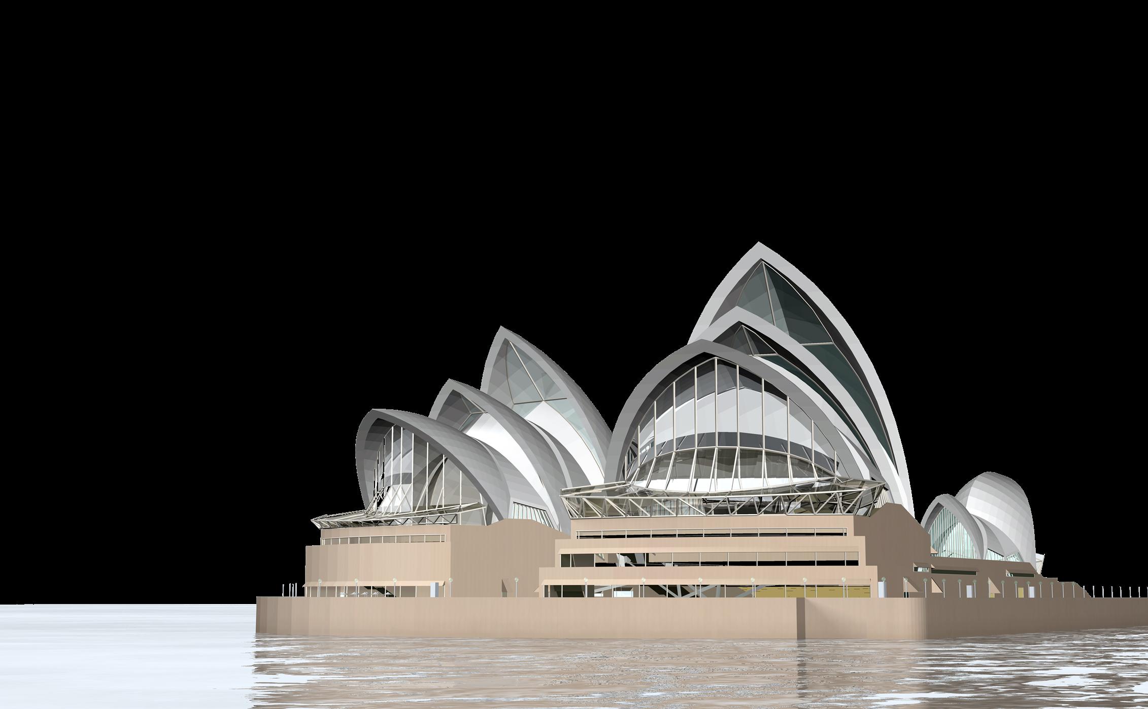 PNG Sydney Opera House - 57794
