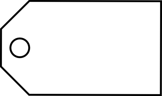 Blank Tag PNG Photo - PNG Tag