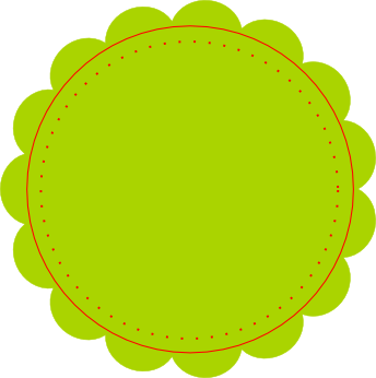 Green Circle Blank Price Tag Png image #9225 - PNG Tag