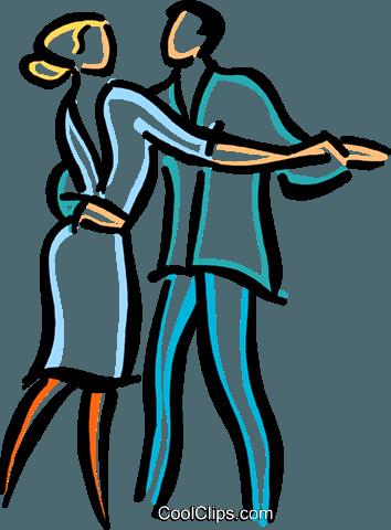 Paar tanzt Vektor Clipart Bild - PNG Tanzen