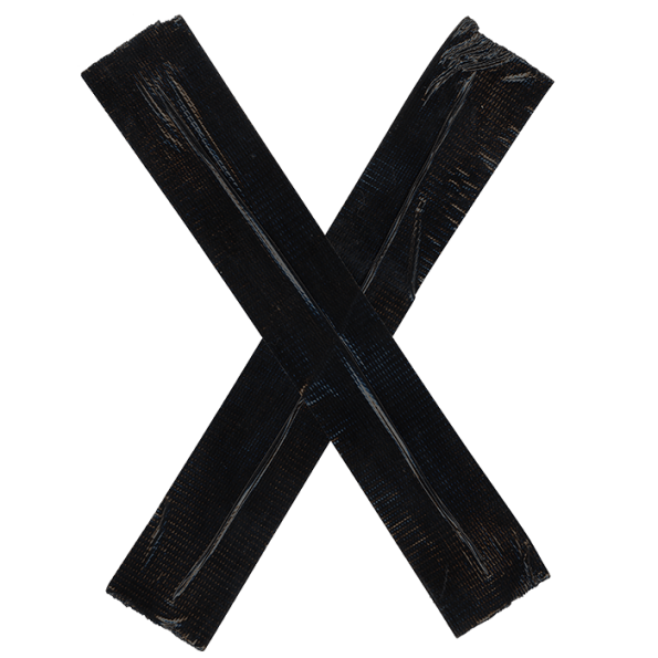 Tape Black Font - PNG Tape