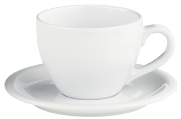 Coffee House 16 ounce Cup - PNG Tea Cup And Saucer