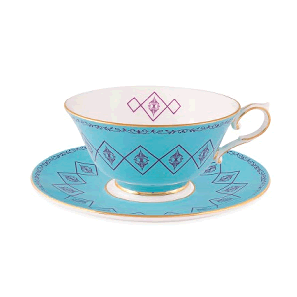 Home / Tea Cup and Saucer in Cambridge Blue. Cambridge Blue sq - PNG Tea Cup And Saucer
