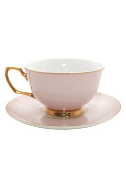 . PlusPng.com Tea Cup with Saucer u2013 Blush. $34.95 - PNG Tea Cup And Saucer