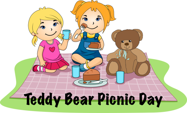 Teddy bear picnic clipart - PNG Teddy Bear Picnic