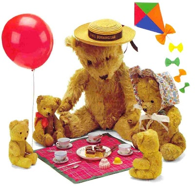Teddy Bear Picnic Party - PNG Teddy Bear Picnic