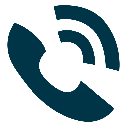 icono de timbre del teléfono