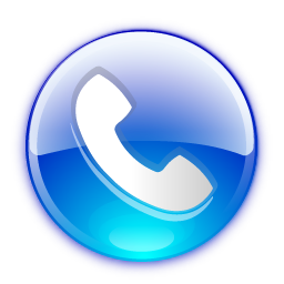 . PlusPng.com phone-button-blue.png PlusPng.com  - PNG Tel