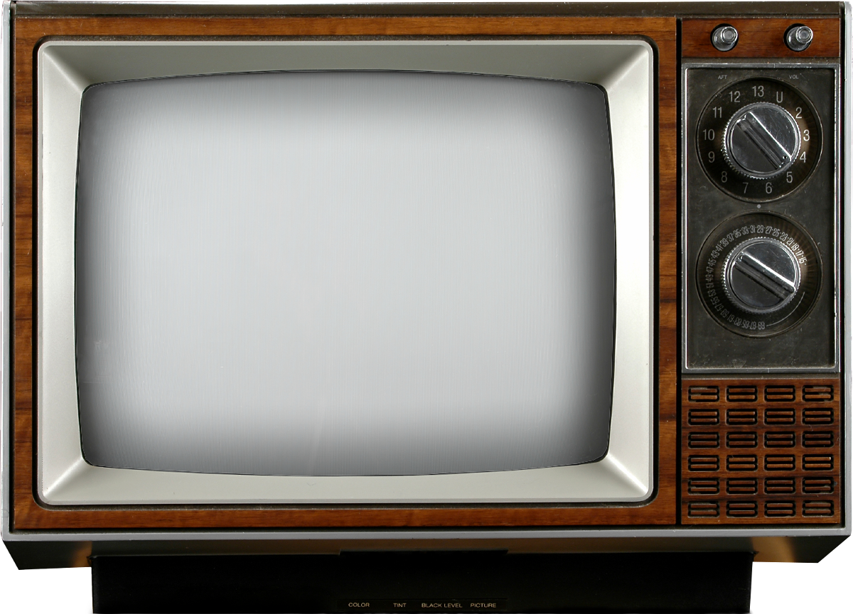 PNG Television Set - 57567