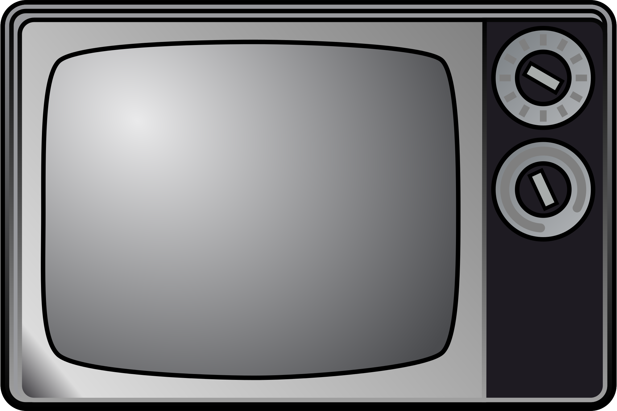 Open PlusPng.com  - PNG Television Set