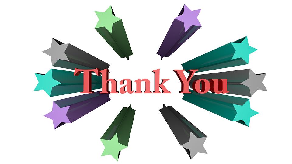 Terima Kasih, 3D, Tanda, Kata - PNG Terima Kasih