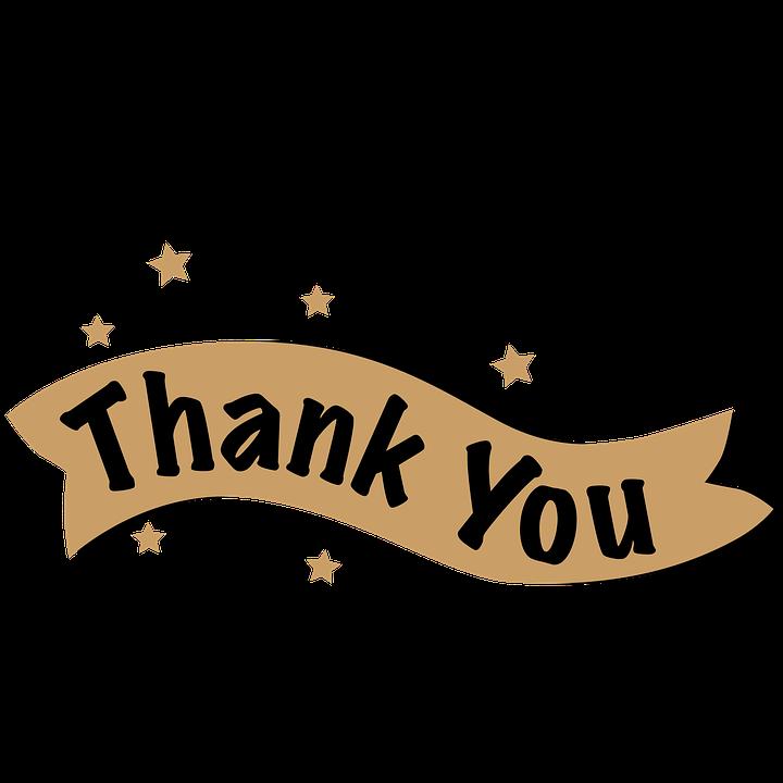 Tulisan, Terima Kasih, Ornamen, Banner - PNG Terima Kasih