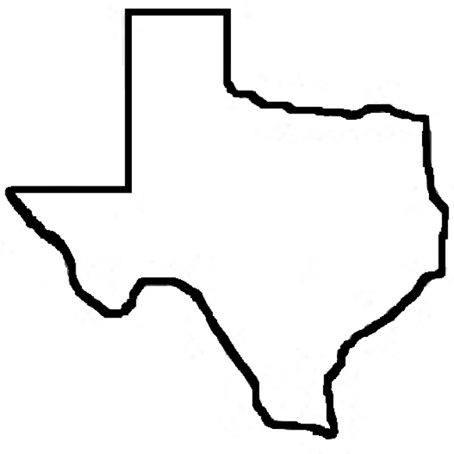 Free clipart of outline of texas clipart - PNG Texas