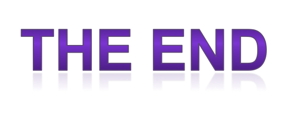 PNG The End - 58854