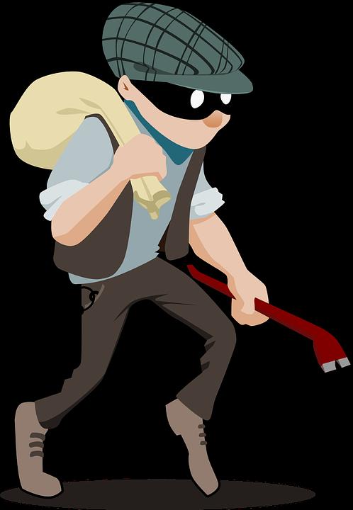 Burglar, Crime, Criminal, Theft, Thief, Man, Person - PNG Thief