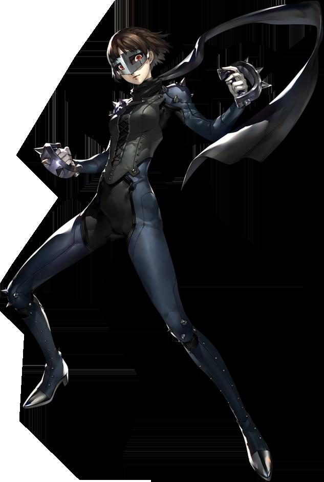 P5 Makoto Nijima, Phantom Thief.png - PNG Thief