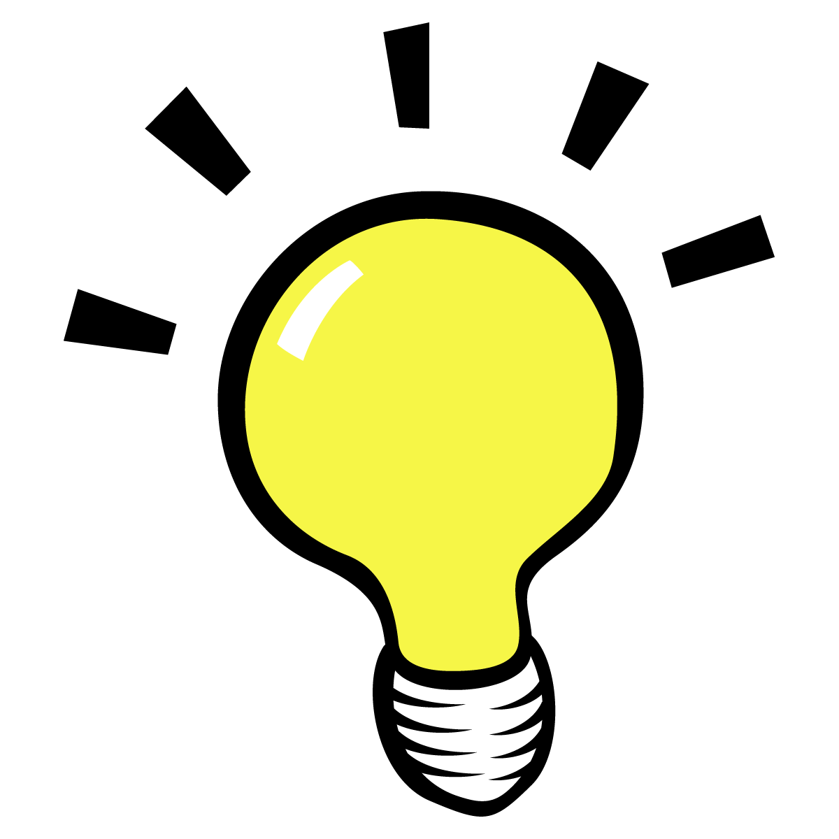 Lightbulb Thinking Clipart | Clipart library - Free Clipart Images - PNG Thinking Of You
