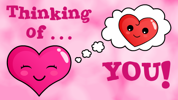 Thinking Of You Sweet Heart - PNG Thinking Of You