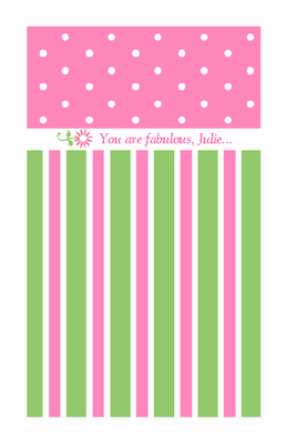 Youu0027re Fabulous greeting card - PNG Thinking Of You