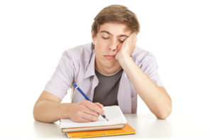 PNG Thinking Student - 60239
