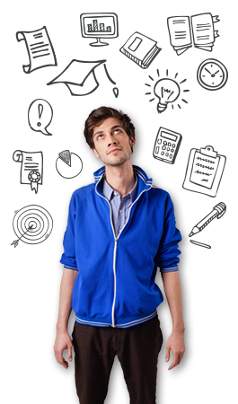 PNG Thinking Student - 60226
