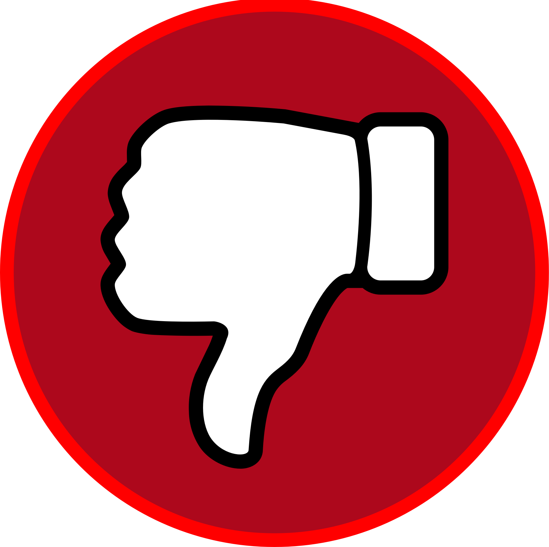 PNG Thumbs Down - 58899