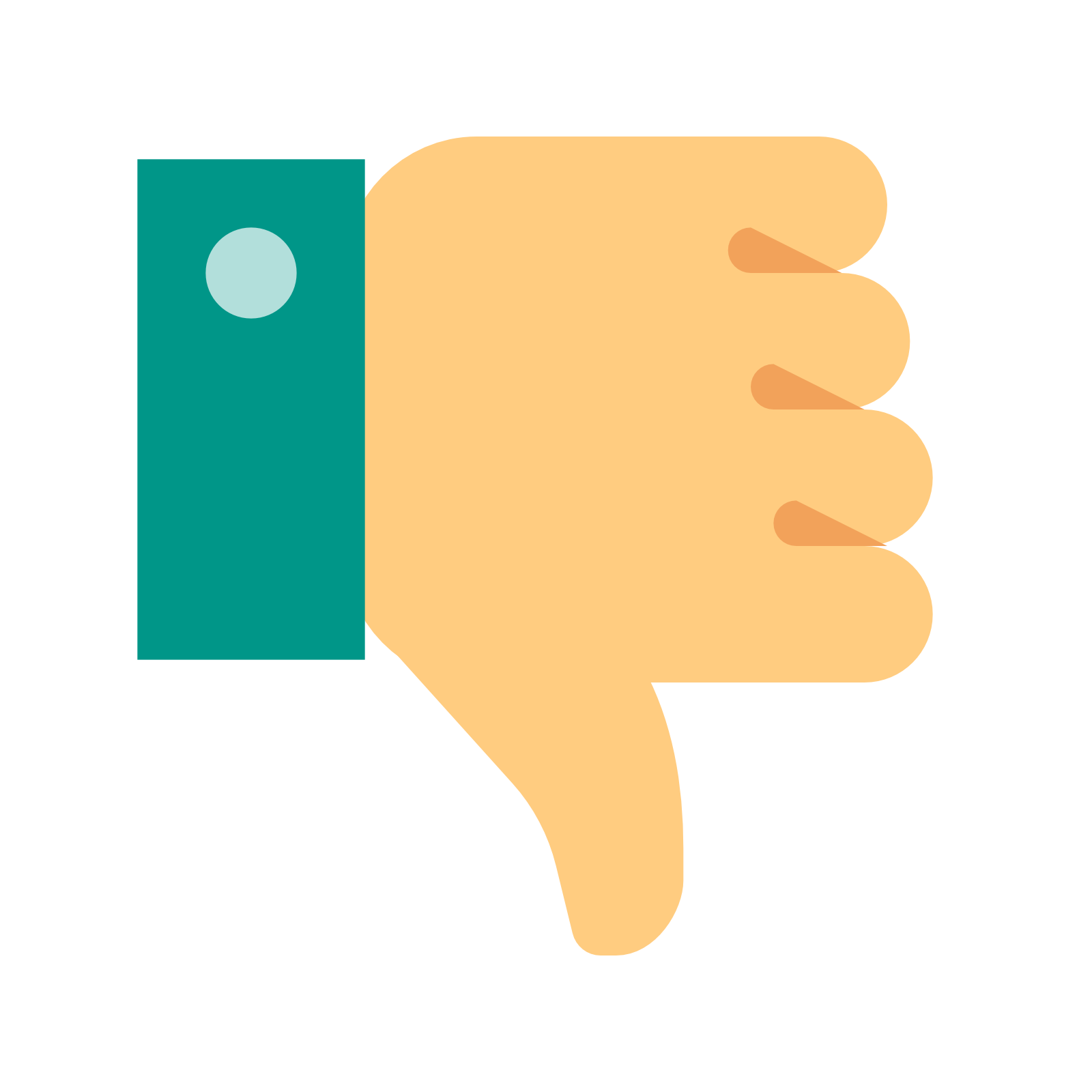 Thumbs Down icon