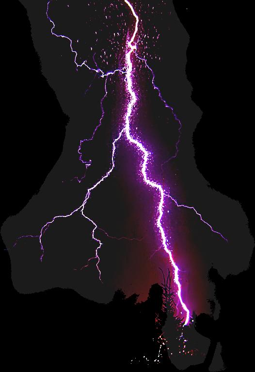 PNG Thunder - 58878