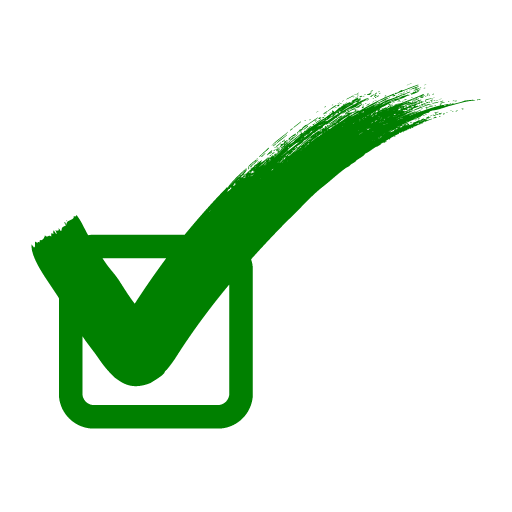 Green Tick PNG Free Download