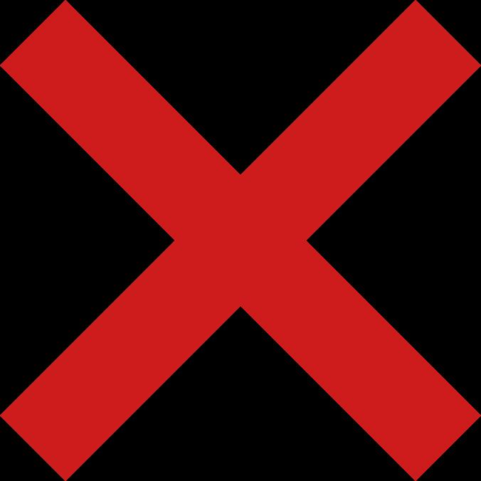 No tick.png - PNG Tick Png