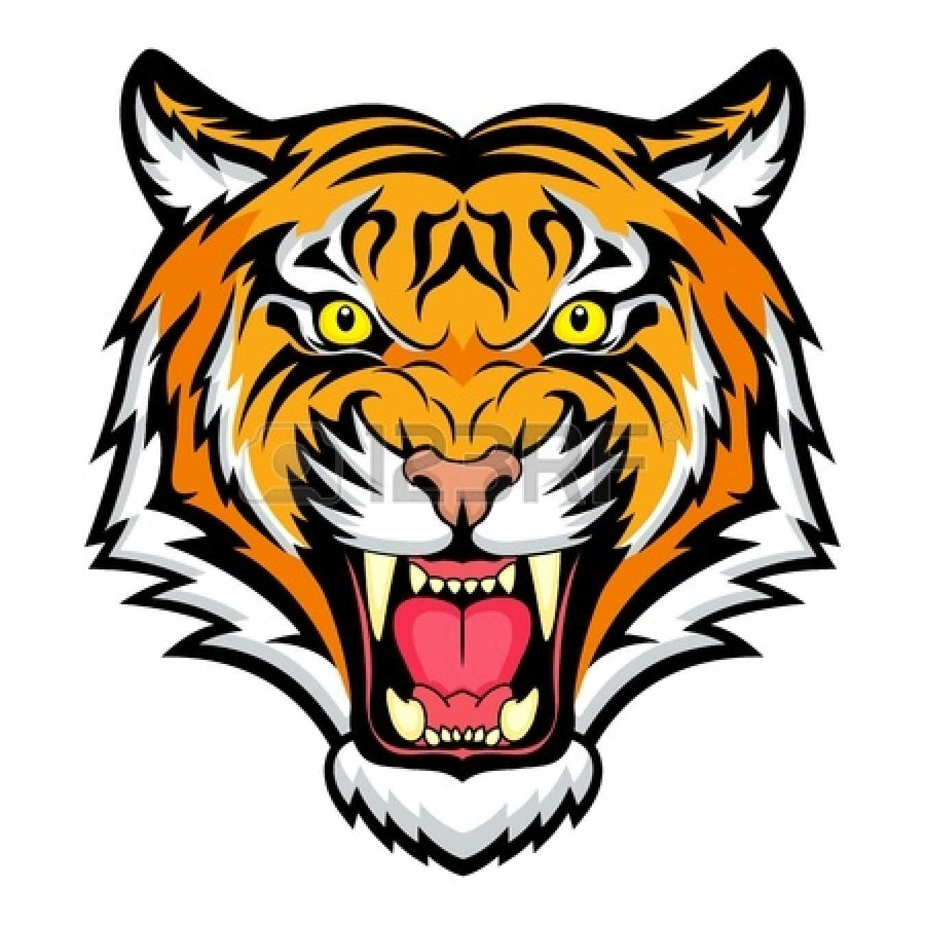 Clipart Info - PNG Tiger Face