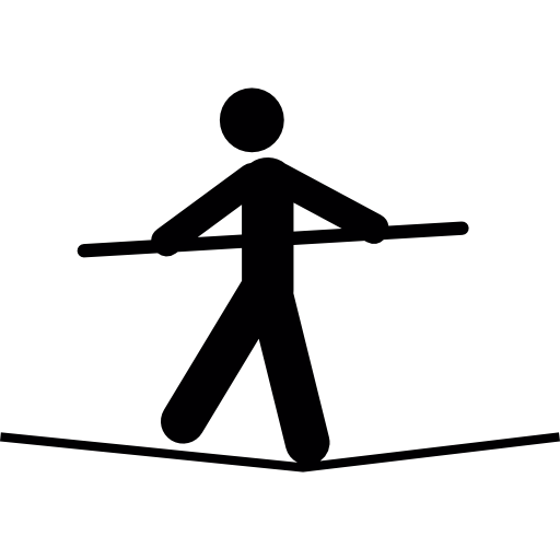 Tightrope Walker Free Icon - PNG Tightrope Walker