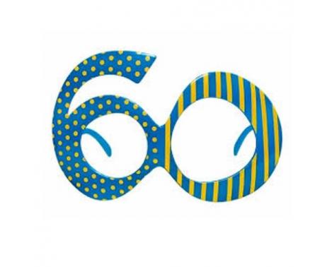 Festbrille til 60 års fødselsdag - PNG Til 60 Ars Fodselsdag