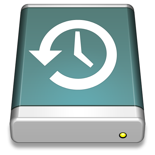 TimeMachine-Disk icon. PNG File: 512x512 pixel - PNG Time Machine