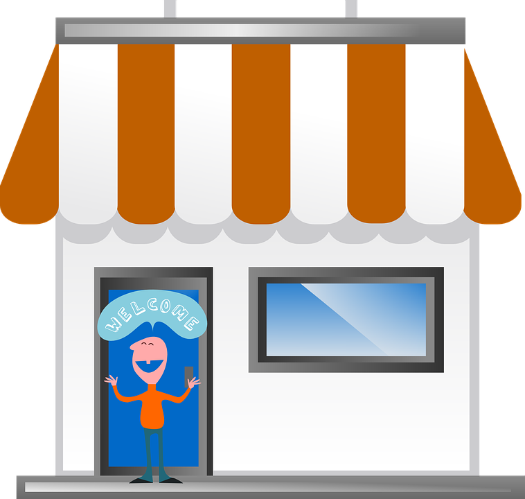 Free Vector Graphic: Welcome, Front, Store, Business - Free Image On  Pixabay - 305504 - PNG Toko