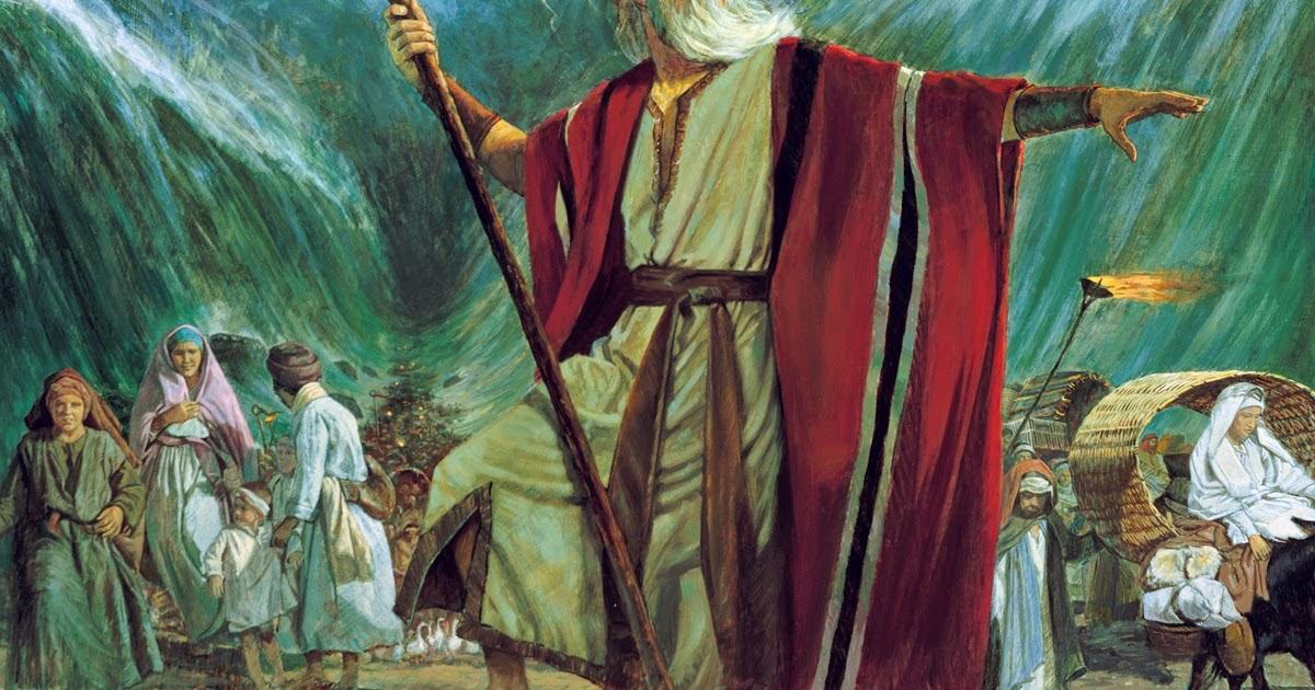 EKSPOSISI MUSA (1) : SEORANG PEMBEBAS BANGSA ISRAEL LAHIR - PNG Tokoh Alkitab Musa