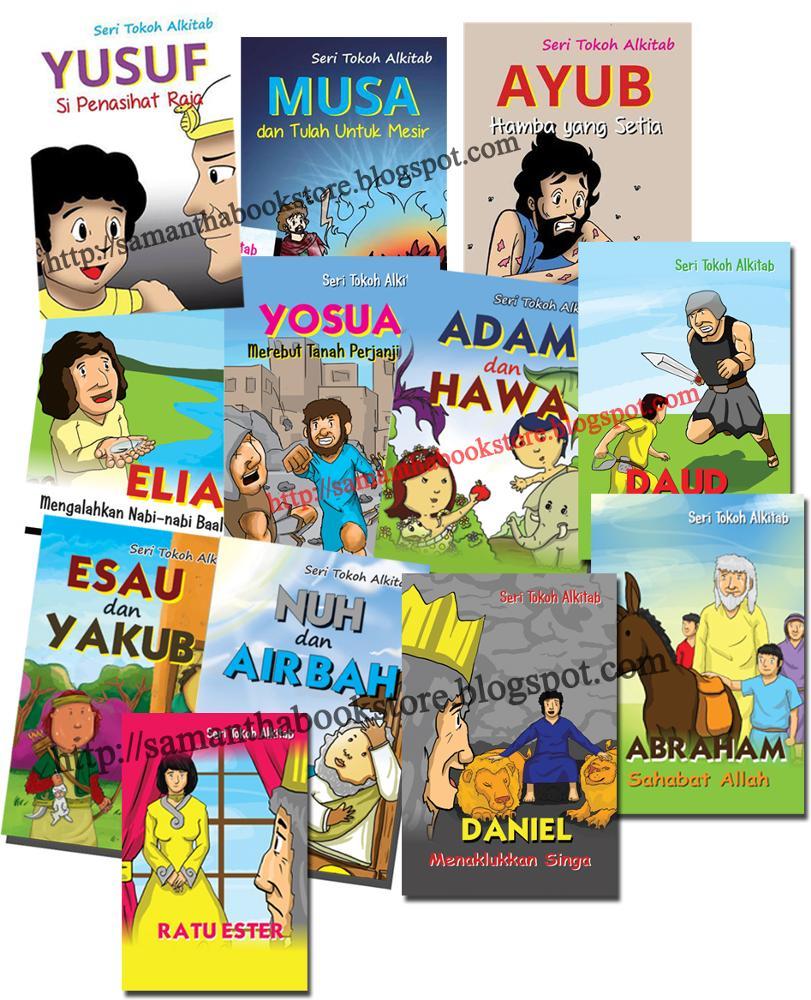 Jual Beli Buku Seri Tokoh - PNG Tokoh Alkitab Musa