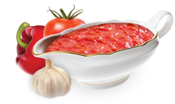 It is a tomato sauce with sliced sweet paprika, garlic, and the mixed  spices. The sauce characterizes by the taste and the aroma of the fresh  paprikas with PlusPng.com  - PNG Tomato Sauce