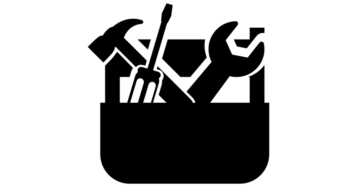 PNG Toolbox Black And White - 80643