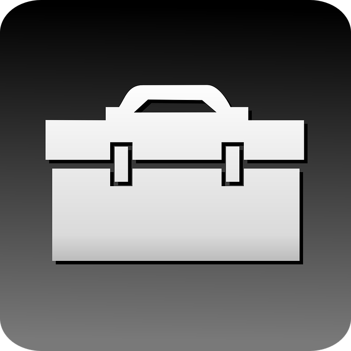 PNG Toolbox Black And White - 80642