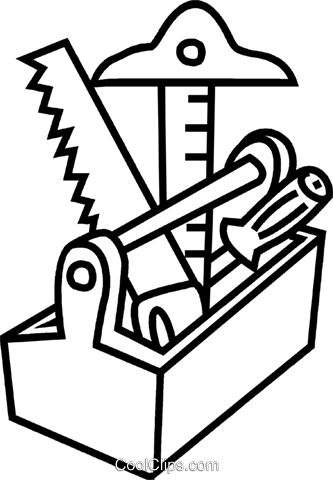 PNG Toolbox Black And White - 80635