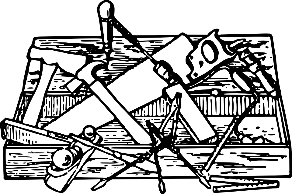 PNG Toolbox Black And White - 80636