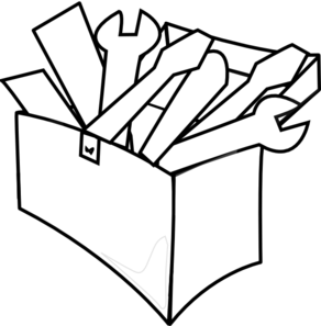 PNG Toolbox Black And White - 80629