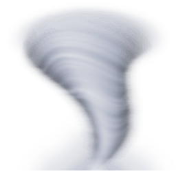 Cloud With Tornado Emoji - PNG Tornado Images