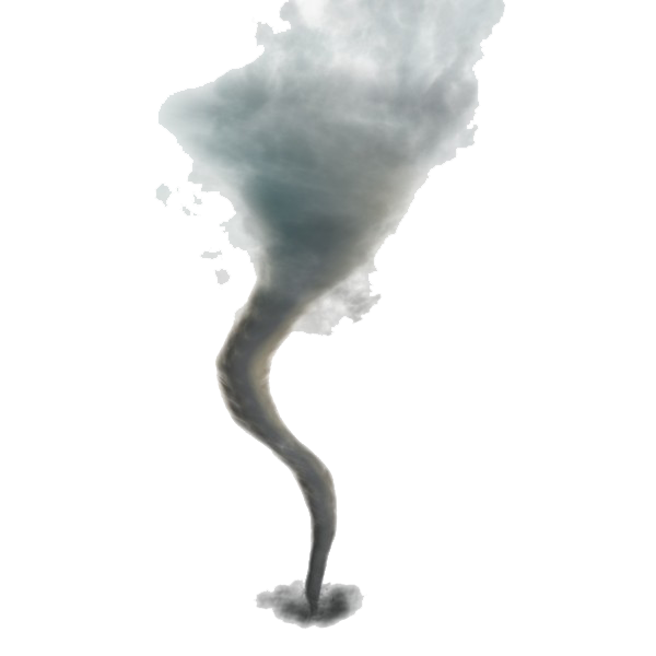 tornado PNG image with transp